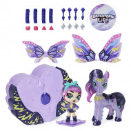 Figurina Hatchimals Pixies Riders Wilder Wings - Magical Mel si Ponygator Glider