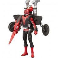 Figurina Power Ranger cu accesorii - Red Ranger si Morphin Cruise Beastbot