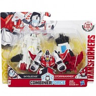 Figurine Robot Skysledge si Stormhammer Transformers Combiner Force