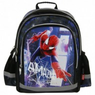 Ghiozdan rucsac ergonomic scoala The Amazing Spiderman 38 cm