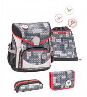Ghiozdan scoala echipat Belmil Cool Bag - Constructii