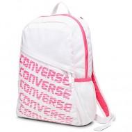 Ghiozdan Speed backpack alb cu roz Converse