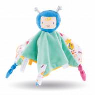 Jucarie de plus pentru somn bebelusi Corolle Mon Doudou Astronaut verde 25 cm
