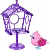 Jucarie interactiva Little Live Pets Lil' Bird - Micuta pasare Princess Polly cu colivie