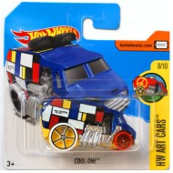 Masinuta Cool-Ine 1/64 Hot Wheels Art Cars
