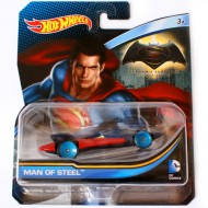 Masinuta Man of Steel 1/64 Hot Wheels DC Universe