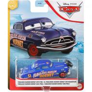 Masinuta metalica Fabulosul Hudson Hornet cu roata de rezerva Disney Cars