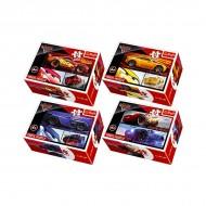 Mini puzzle Cars 54 piese