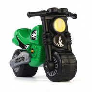 Motocicleta fara pedale verde Polesie