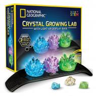 National Geographic STEM Kit - Laboratorul de crescut cristale iluminate