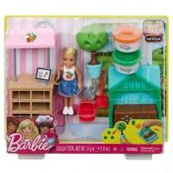 Papusa Chelsea blonda si gradina de legume - Barbie
