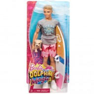 Papusa Ken Magic Dolphin Barbie