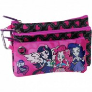 Penar cu 3 compartimente My Little Pony Equestria Girls