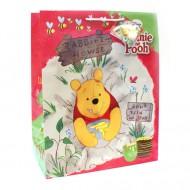Punga pentru cadou mare Winnie the Pooh mancand