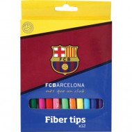 Set 12 carioci colorate F.C Barcelona