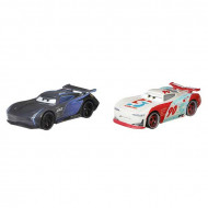 Set 2 masinute metalice Jackson Storm si Paul Conrev Disney Cars