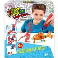 Set 4 Creioane IDO3D Vertical Baieti - Design Studio 3D