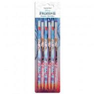Set 6 creioane grafit cu radiera Frozen