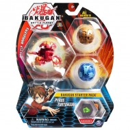 Set Bakugan Start figurina Pyrus Turtonium