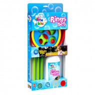Set baloane de sapun cu accesorii cercuri Fru Blu