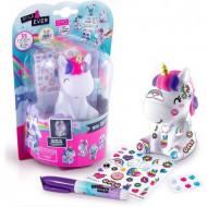 Set creativ Style4Ever Mini Deco DIY - Unicorn curcubeu