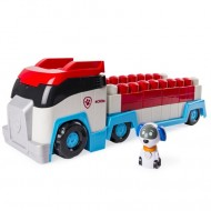 Set de joaca Autobuzul Gardianul Catelusilor cu Cuburi si Robo Dog Patrula Catelusilor
