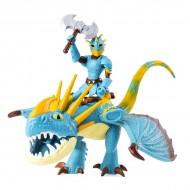 Set de joaca Cum sa-ti dresezi dragonul - Figurine Astrid si Stormfly - 17 cm