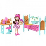 Set de joaca Dreamy Bedroom Bren Bear& Snore- EnchanTimals