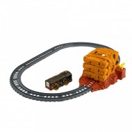 Set de joaca Thomas and Friends - Circuit Tunnel Blast Track Master cu trenulet Diesel motorizat