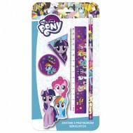 Set Papetarie 4 buc My Little Pony
