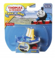Skiff Locomotiva din Metal Thomas&Friends Take N Play