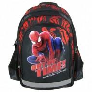 Ghiozdan rucsac ergonomic scoala rosu The Amazing Spiderman 39 cm