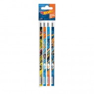 Set 4 Creioane Grafit Hot Wheels