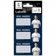 Set Etichete Caiet 9 buc FC Real Madrid