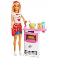 Set de joaca Barbie Cofetar