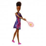 Papusa Barbie antrenor de tenis