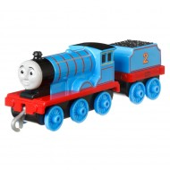 Locomotiva Metalica cu vagon Edward Push Along Thomas&Friends Track Master