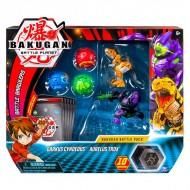 Set Bakugan 5 figurine Darkus Cyndeous si Aurelus Trox