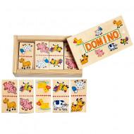 Domino din lemn - Animale