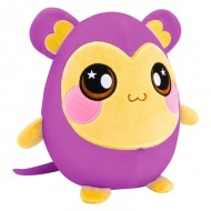 Figurina de plus Squeezamals Squishy Maimutica 20 cm