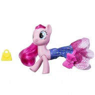 Figurina Pinkie Pie sirena si ponei My Little Pony:Filmul