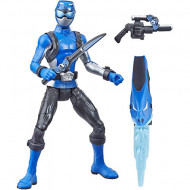 Figurina Power Ranger cu accesorii - Blue Ranger 15 cm