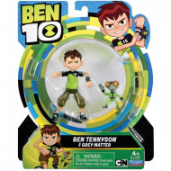 Figurine Ben 10 Ben Tennyson si Greymatter