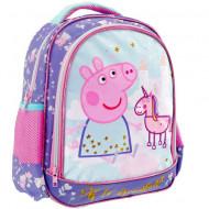 Ghiozdan pentru gradinita Peppa si unicornul Peppa Pig 31 cm