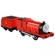 James Trenulet Locomotiva Motorizata cu Vagon Thomas&Friends Track Master