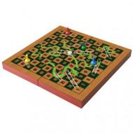 Joc in cutie de lemn - Serpi si scari
