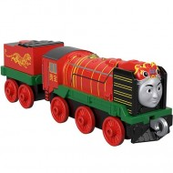 Locomotiva cu Vagon Metalica Yong Bao Push Along Thomas&Friends Track Master