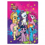 Mapa cu elastic A4 My Little Pony
