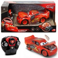 Masina cu telecomanda Fulger McQueen Turbo Crash Car Cars 3