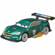 Masinuta metalica Nigel Gearsley cu flacari Disney Cars